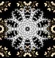 paisleys elegant floral seamless pattern vector image
