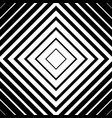 seamless monochrome pattern with square shape vector image vector image