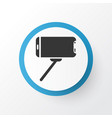 selfie stick icon symbol premium quality isolated vector image