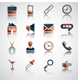 Set of bright buttons for your site vector image vector image