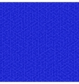Blue Texture Fabric Backgroud vector image vector image