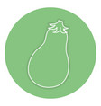 fresh beet isolated icon vector image vector image