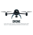 icon drone with camera photography graphic vector image