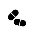 Medicine Icon Flat vector image vector image