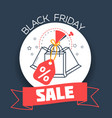 november black friday packages vector image