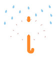 Numbers game for children umbrella