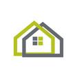 real estate logo image vector image vector image
