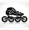 roller skate icon design vector image
