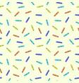 seamless pen pattern vector image