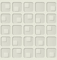 seamless squares background vector image vector image