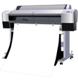 The printer industrial vector image