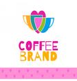 Coffee logo set vector image