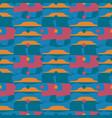 displaced backdrop polka seamless pattern vector image vector image