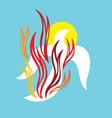 Holyspirit fire vector image vector image