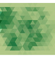 light green abstract textured polygonal vector image vector image