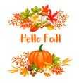 seasonal autumn sale banners vector image vector image