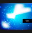 shiny glittering light background vector image vector image