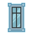 Window element isolated vector image vector image