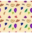 pattern hats vector image