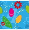 Cute Easter Seamless pattern background vector image vector image