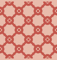 elegant geometric seamless pattern with grid net vector image vector image