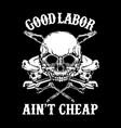 good labor vector image vector image