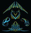 pinstripe007 vector image vector image