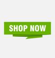 shop now vector image vector image