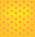 summer yellow background with orange vector image vector image