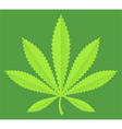 Marijuana Pot Leaf vector image