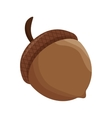 thanksgiving seed isolated icon vector image