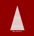 Stylised Christams tree vector image