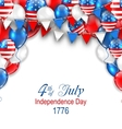 american traditional celebration background vector image vector image