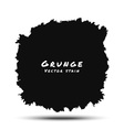 Black Watercolor Grunge Splatter vector image vector image