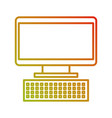 computer keyboard device technology digital vector image