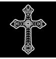 Decorative Cross vector image vector image