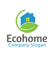 Eco Home Design vector image vector image