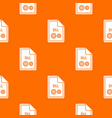 file dll pattern seamless vector image vector image