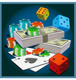 games chance vector image vector image