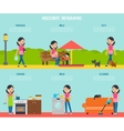 Housekeeping Infographic Concept vector image