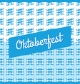 oktoberfest blue background germany octoberfest vector image