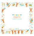 Party People Frame vector image vector image