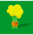 Broccoli student vector image