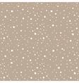 Snow kraft paper seamless pattern vector image