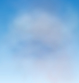 Background Blue Sky and Clouds vector image vector image