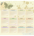 calendar for 2012 vector image
