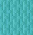 green low poly background vector image vector image