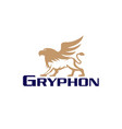 gryphon vector image vector image