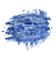 Hand drawn abstract watercolor background vector image vector image