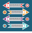 Infographic Concept for Presentation - Sche vector image vector image